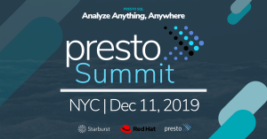Presto Summit NYC Promotion
