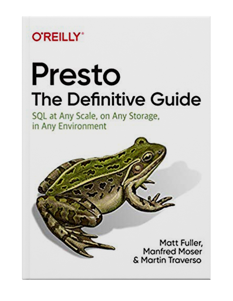 Presto O'Reilly Book Cover