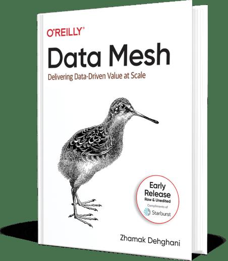 Data Mesh Book Cover